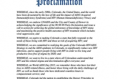 CO proclamation
